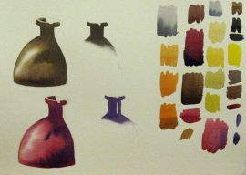 Watercolour Studies by Barry Coombs - FallTuesWk5