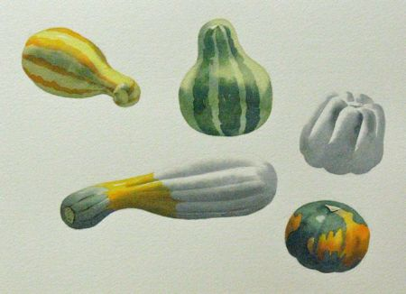 Step Three of Watercolour Demonstration by Barry Coombs - FallTuesWk4