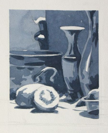 Watercolour demonstration by Barry Coombs - WinterSat1/2013
