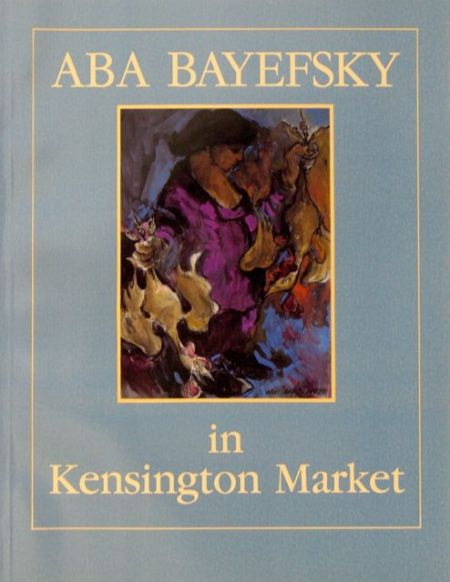 Aba Bayefsky in Kensington MarketWinterTuesWk2