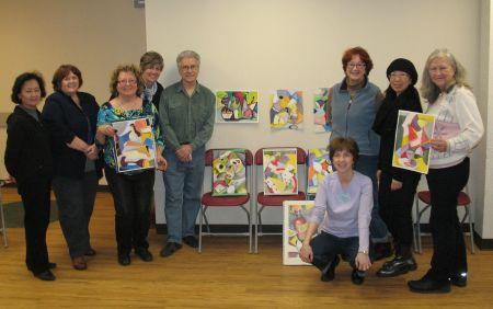 Markham 'Cubists' - Markham Group of Artists-30/1/2013