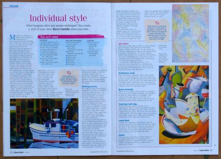 Pages 1 & 2 of Coombs Feature - Leisure Painter-April 2013