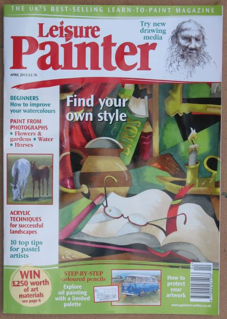 Cover of Leisure Painter-April 2013