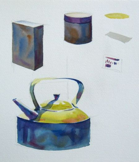 Watercolour Demonstration by Barry Coombs - WinterSat3/2013