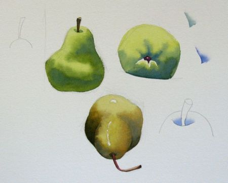 Watercolour Demonstration by Barry Coombs - SpringSat1/2013