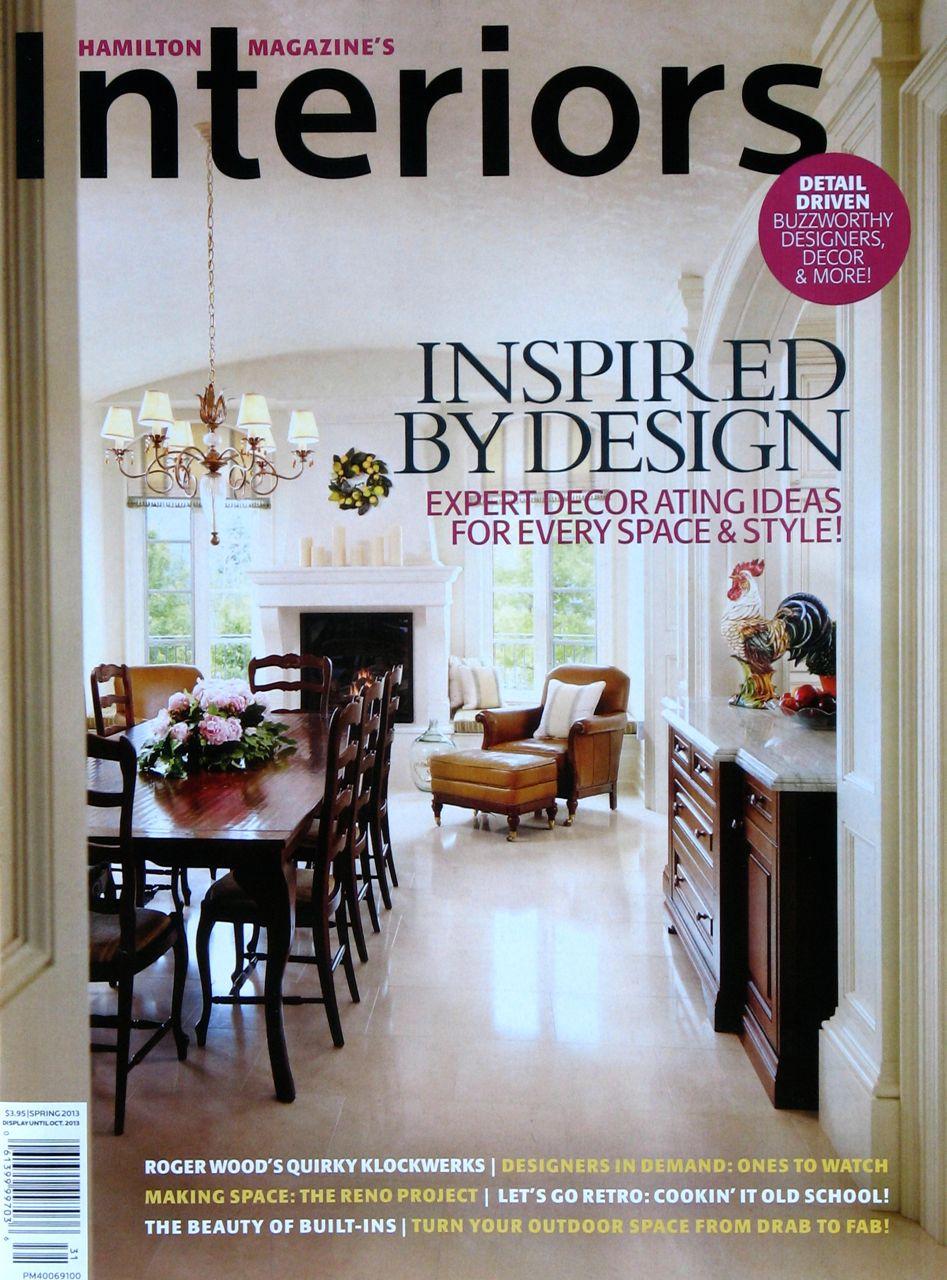 Superb Featured In Interiors Magazine!