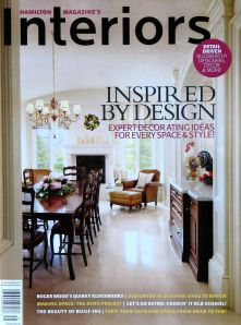 Interiors cover - Spring 2013