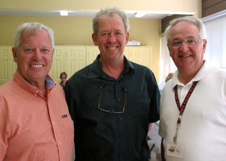 Bob Sivak (L), Me and Ron Mabee (R)