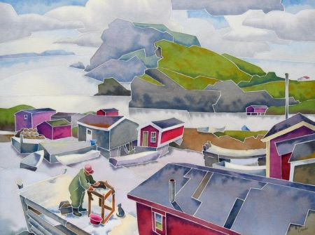 Champney's West, Newfoundland by Barry Coombs