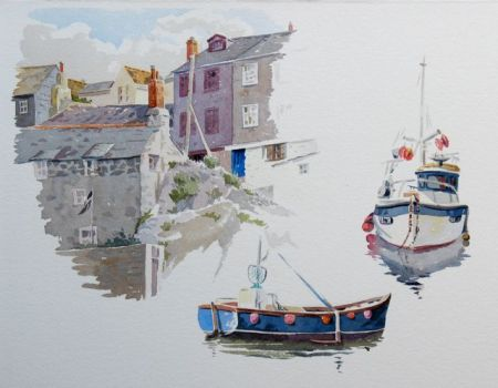 Megavissey - Watercolour studies by Barry Coombs