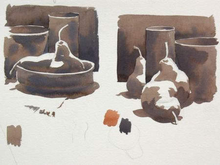 Watercolour Demonstration by Barry Coombs - FallTues2013Wk1