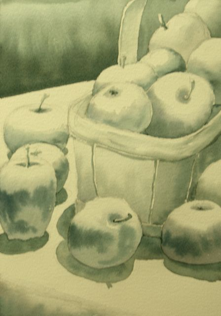 Apples in Grey by Michele Perigny