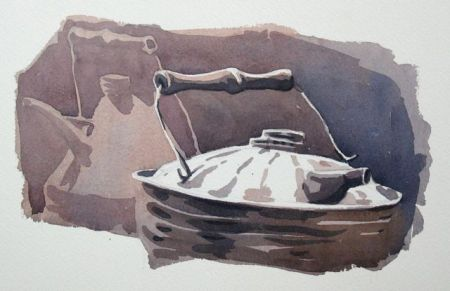 Watercolour demonstration by Barry Coombs - FallTuesWk5/2013