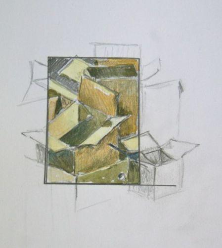 Thumbnail Study by Elizabeth Harvey