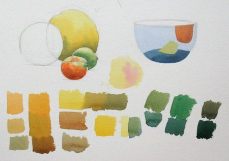 Watercolour demonstration by Barry Coombs - FallSustSat2/2013