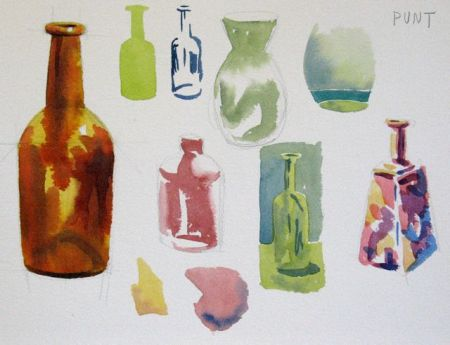 Watercolour Demonstration by Barry Coombs - WinterSat18/1/2014
