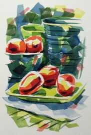 Watercolour demonstration by Barry Coombs - WinterTuesWk10/