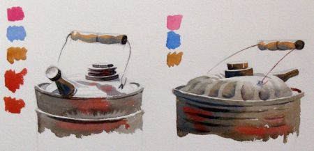 Watercolour demonstration by Barry Coombs - SpringTuesWk5/2014