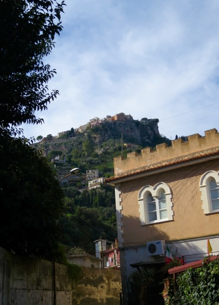 Castelmola from below