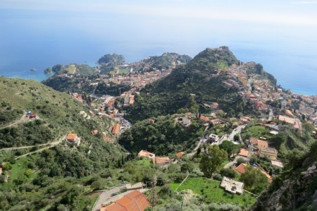 Taormina from Castelmola