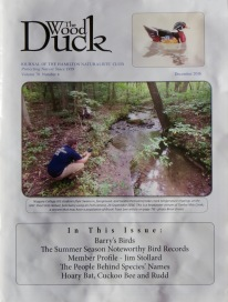 Wood Duck, December 2016, Cover